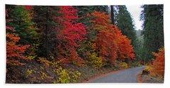 Fall's Splendor Hand Towel by Lynn Bauer