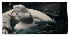 Feeding Time Bath Towel by Karen Harrison