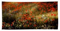Field Of Wildflowers Bath Towel
