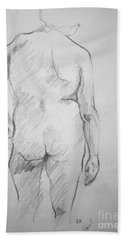 Figure Study Hand Towel by Rory Sagner