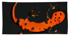Fire Belly Newt Hand Towel