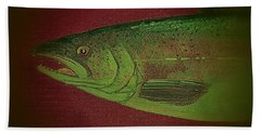 Fish 10 Bath Towel by Andrew Drozdowicz
