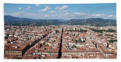 Florence From The Duomo Bath Towel by Dany Lison
