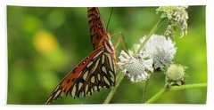 Florida Butterfly Hand Towel
