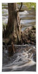 Hand Towel featuring the photograph Florida Rapids by Steven Sparks