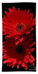 Hand Towel featuring the photograph Flowers From My Son by Cindy Manero
