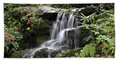 Bath Towel featuring the photograph Flowing Softly by Myrna Bradshaw