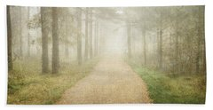 Foggy Forest Hand Towel