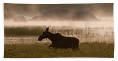 Foggy Stroll Bath Towel by Brent L Ander