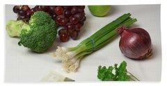 Foods Rich In Quercetin Hand Towel