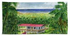 Foothills Of El Yunque Puerto Rico Hand Towel