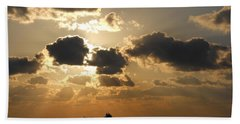 Hand Towel featuring the photograph Fort Lauderdale Sunrise by Clara Sue Beym
