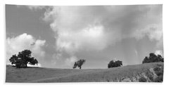 Bath Towel featuring the photograph Four On The Hill by Kathleen Grace