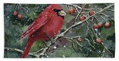 Franci's Cardinal Hand Towel