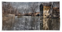 Hand Towel featuring the photograph Fredonia Mill by Brian Duram