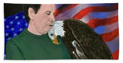 Freedom Friends Bath Towel by Stan Hamilton