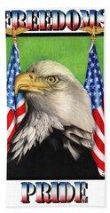 Freedoms Pride Bath Towel
