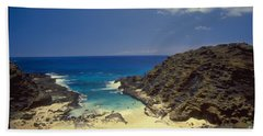 From Here To Eternity Beach Hand Towel by Mark Gilman