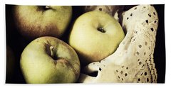 Fuji Apples Bath Towel