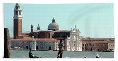 Gandola Rides In Venice Bath Towel