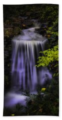 Bath Towel featuring the photograph Garden Falls by Lynne Jenkins