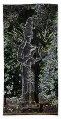 Garden Goddess Bath Towel by Donna  Smith