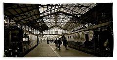 Bath Towel featuring the photograph Gare De Saint Lazare by Eric Tressler