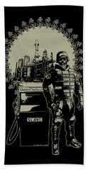 Gas Riot  Hand Towel by Tony Koehl