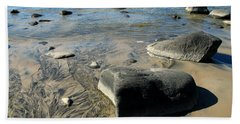 Georgian Bay Rocks Bath Towel