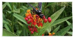 Giant Wasp Hand Towel