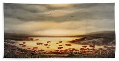 Glory - Panoramic Sunset 2 Bath Towel