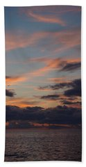 God's Evening Painting Hand Towel by Bonfire Photography