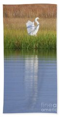Bath Towel featuring the photograph Going Going . . . .  by Linda Mesibov