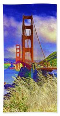 Golden Gate Bridge - 6 Bath Towel