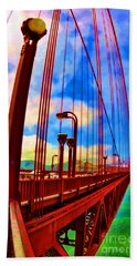 Golden Gate Bridge - 8 Bath Towel