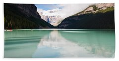 Gorgeous Lake Louise Hand Towel by Cheryl Baxter