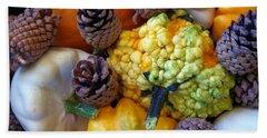 Hand Towel featuring the photograph Gourds 5 by Deniece Platt