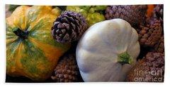 Hand Towel featuring the photograph Gourds 6 by Deniece Platt