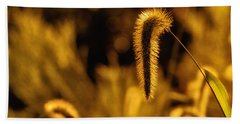 Grass In Golden Light Hand Towel