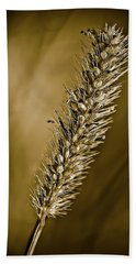 Grass Seedhead Bath Towel