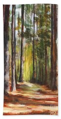 Great Brook Farm Summer Path Hand Towel
