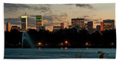 Great Pond Fountain Hand Towel