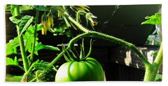 Green Tomatoes Bath Towel