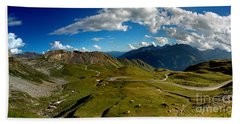 Grossglockner High Alpine Road Hand Towel