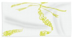 Ground Frond Hand Towel