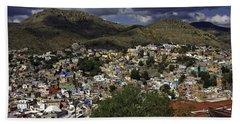 Guanajuato Vista No. 1 Bath Towel by Lynn Palmer