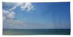 Hand Towel featuring the photograph Gulf Sky by Kay Lovingood