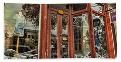 Halloween Storefront - Shepherdstown Wv Bath Towel