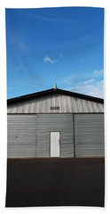 Bath Towel featuring the photograph Hangar 2 by Kathleen Grace