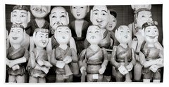 Hanoi Water Puppets Bath Towel by Shaun Higson